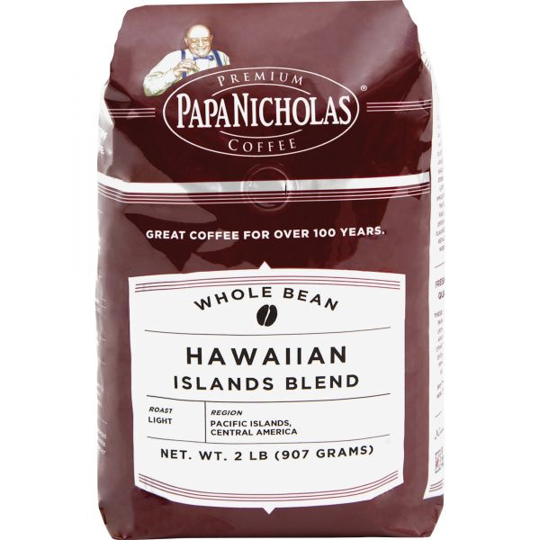PapaNicholas Premium Whole Bean Coffee (2 lbs)