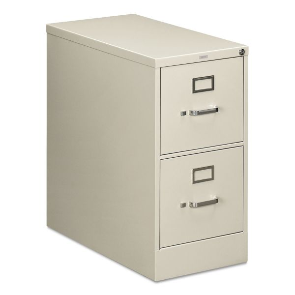 HON 210 Series 2 Drawer Locking Vertical Filing Cabinet