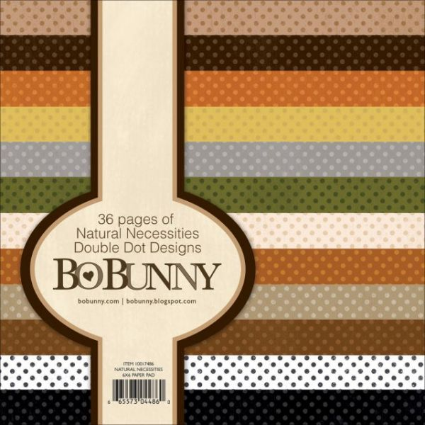 BoBunny Double Dot Natural Necessities Paper Pad