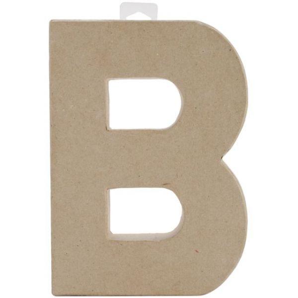 Paper-Mache Letter