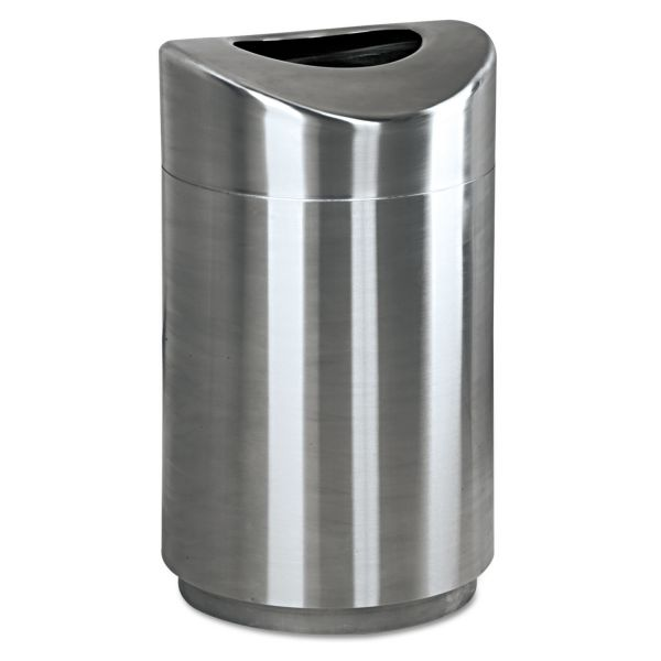United Eclipse Open Top 30 Gallon Trash Can