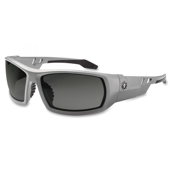 Ergodyne Odin Smoke Lens/Gray Frame Safety Glasses