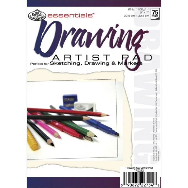 Essentials Drawing Artist Paper Pad
