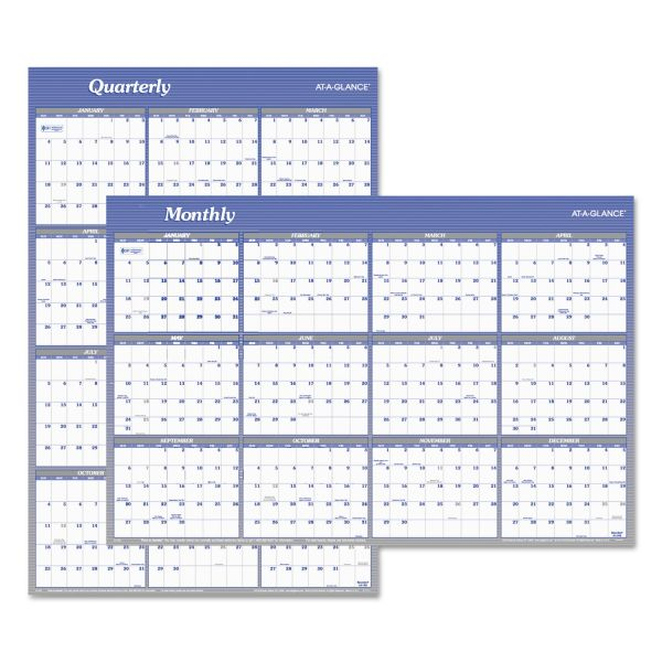 At-A-Glance Reversible/Erasable Yearly Wall Calendar
