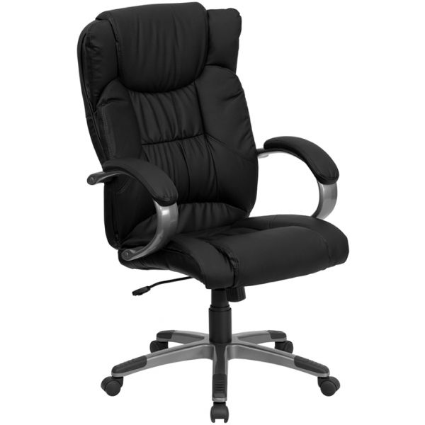 Flash Furniture High Back Executive Swivel Office Chair [BT-9088-BK-GG]