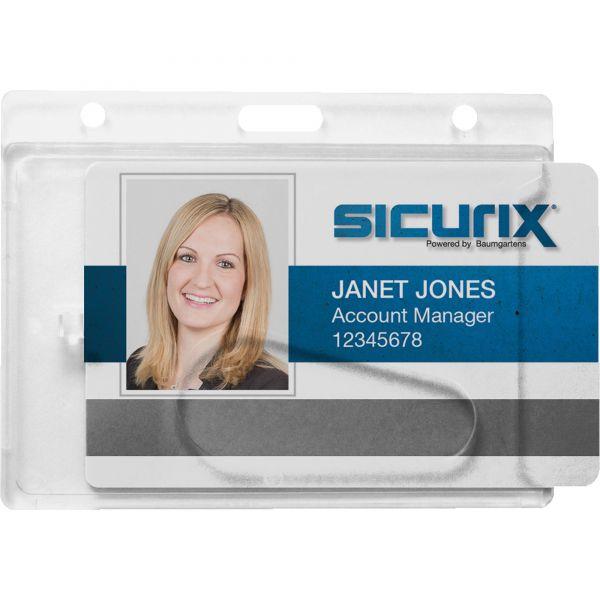 SICURIX Rigid PC ID Badge Dispensers
