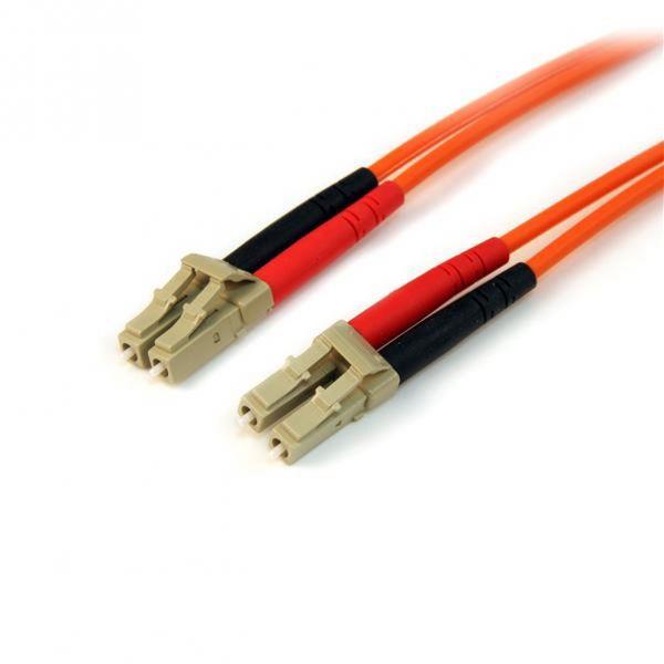 StarTech.com 1m Multimode 50/125 Duplex Fiber Patch Cable LC - LC