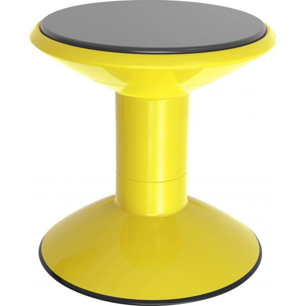 Pleasant Storex Wiggle Stool Non Slip Base Adjustable 12 18 Inch Height Yellow Cjindustries Chair Design For Home Cjindustriesco