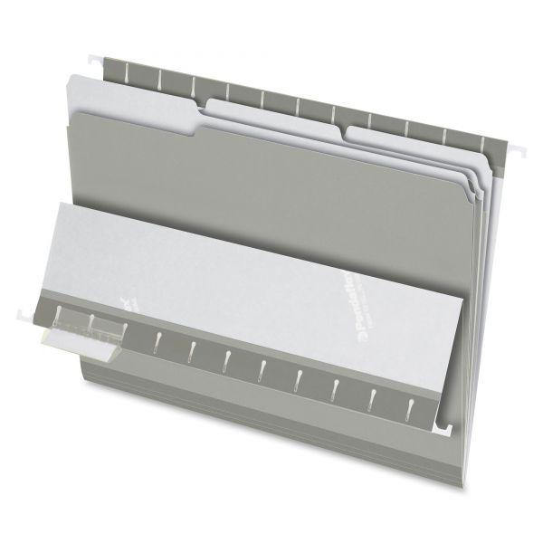 Pendaflex Gray Colored File Folders
