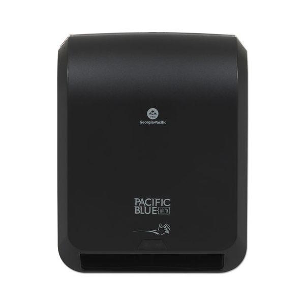Georgia Pacific Professional Pacific Blue Ultra Paper Towel Dispenser, Automated, 12.9 x 9 x 16.8, Black