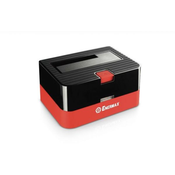 Enermax ULTRABOX EB310SC Drive Dock External - Black, Red