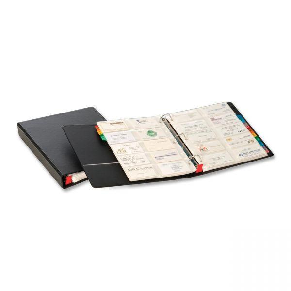 Cardinal Business Card File Binder