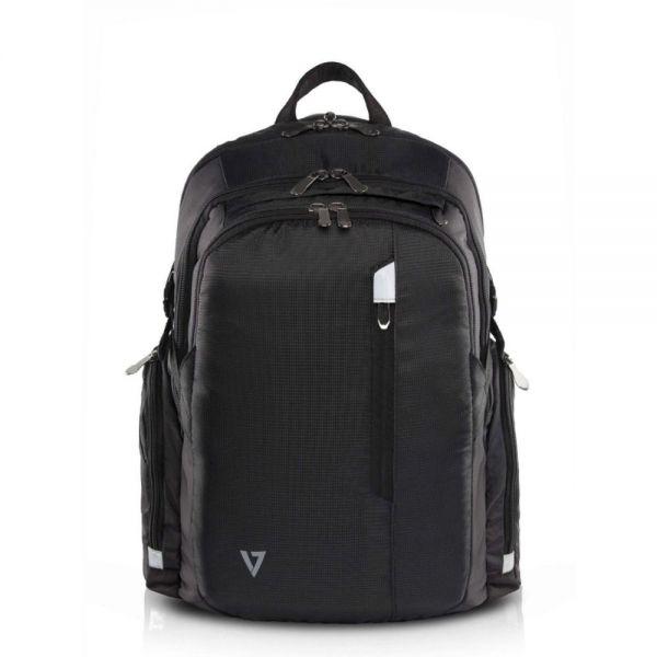 "V7 Elite CBPX1-9N Carrying Case (Backpack) for 16"" Tablet, Notebook, iPad Air, iPad Air 2, iPad mini, iPad 3, iPad 4, ... - Black"