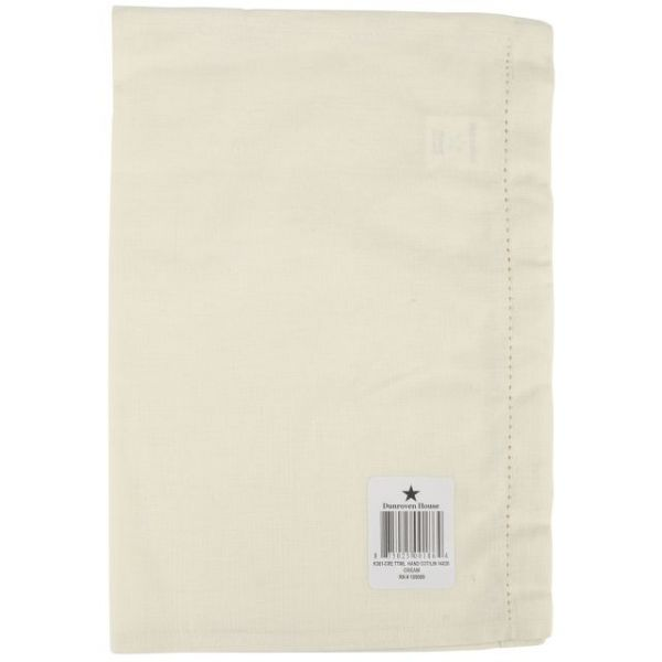 "Cotton/Linen Blend Hand Towel 14""X20"""
