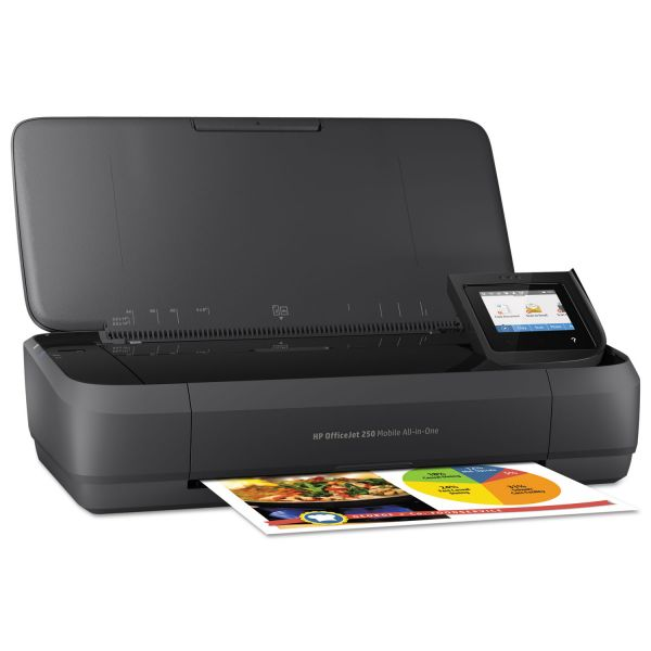HP OfficeJet 250 Mobile All-in-One Printer, Copy/Print/Scan