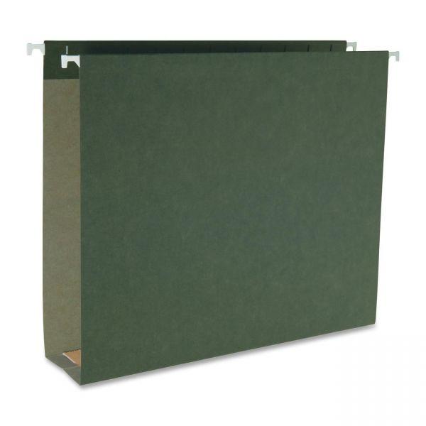 Business Source Hanging Box Bottom File Folders