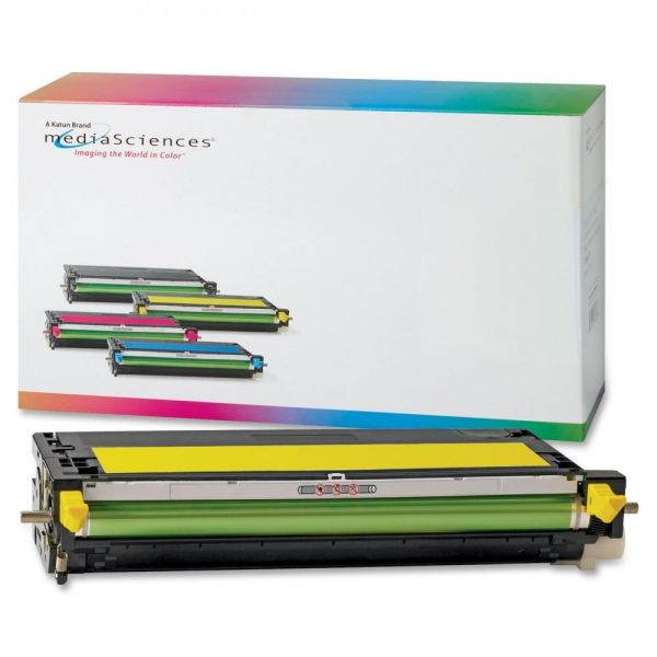 Media Sciences Remanufactured Xerox 106R01394 Yellow Toner Cartridge