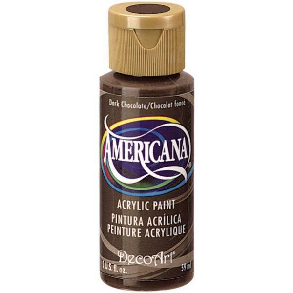 Deco Art Americana Dark Chocolate Acrylic Paint