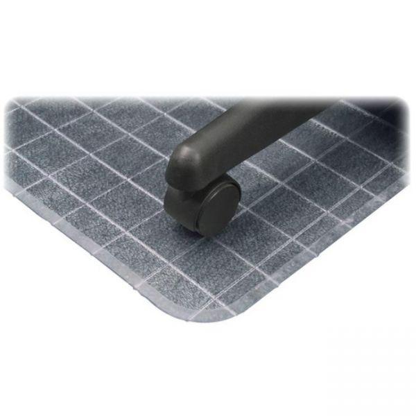 Deflect-o DuraMat Checkered Low Pile Chair Mat