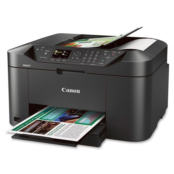 Canon MAXIFY MB2020 Inkjet Multifunction Printer - Color - Plain Paper Print - Desktop