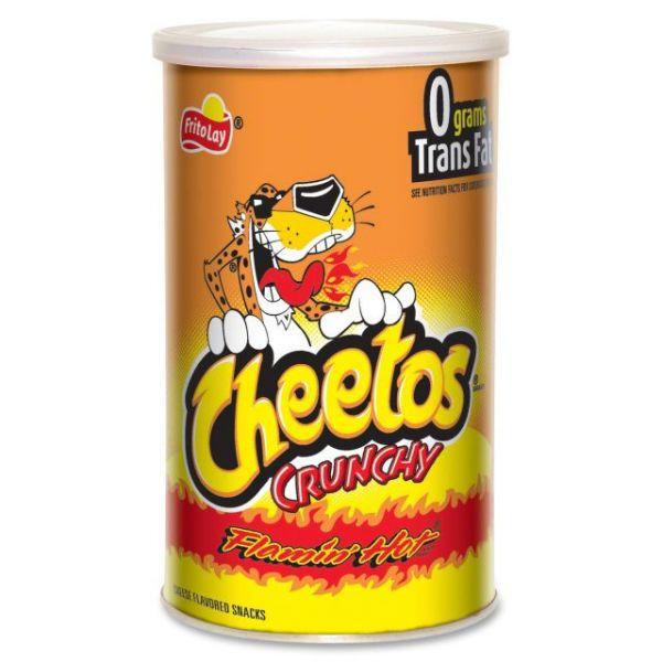 Cheetos Flaming Hot Crunchy Snack