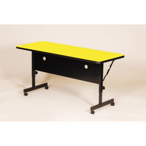 "Correll FT2472 Deluxe Flip Top Table -  High Pressure Top - 24"" x 72"""