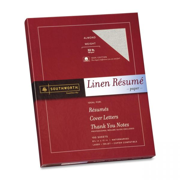 Southworth Fine Linen Resume Paper