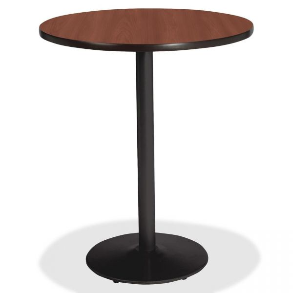 Lorell Bistro-Height Laminate Table with Base