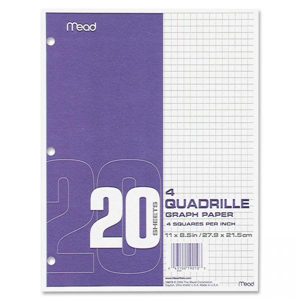 Mead Paper Filler Quad Ruled