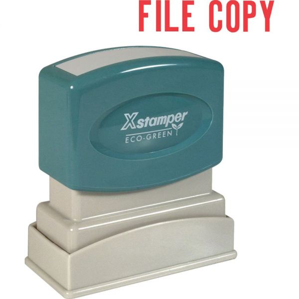 Xstamper FILE COPY Title Stamp