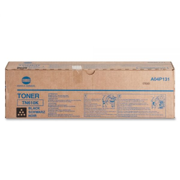 Konica Minolta TN-610K High-Yield Black Toner Cartridge