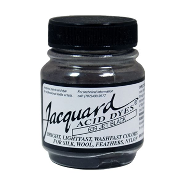 Jacquard Jet Black Acid Dyes