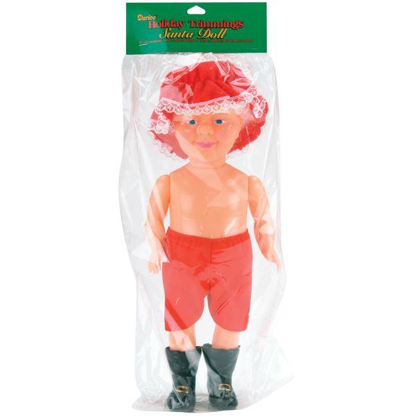 """Santa Music Box Doll 13"""""""