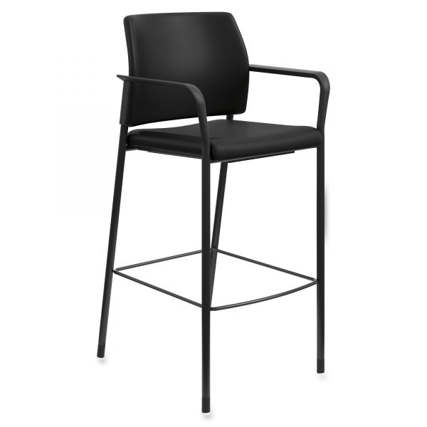 HON Accommodate Fixed Arms Cafe Height Stool