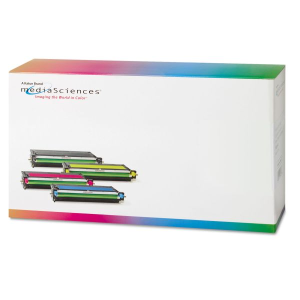 Media Sciences Remanufactured Dell 310-8095 Cyan Toner Cartridge