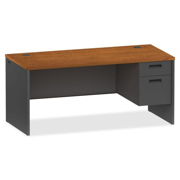 Lorell 97000 Series Modular Right Pedestal Computer Desk
