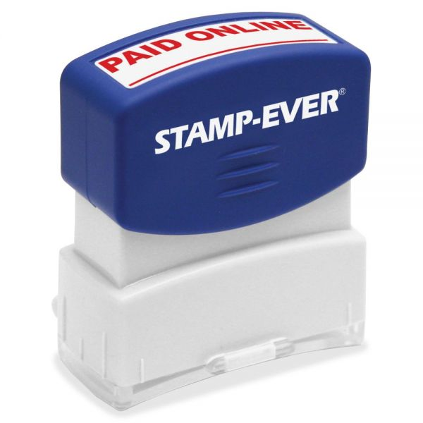 U.S. Stamp & Sign PAID ONLINE Pre-inked Stamp