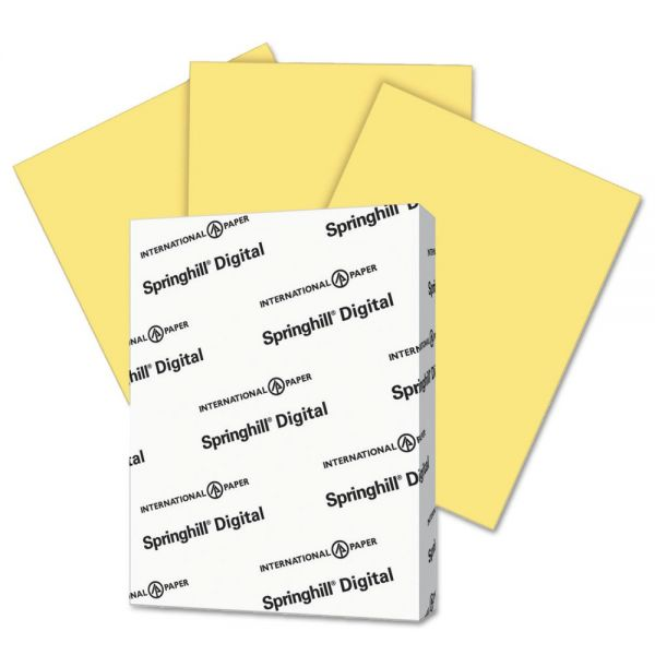 Springhill Digital Index Buff Colored Card Stock