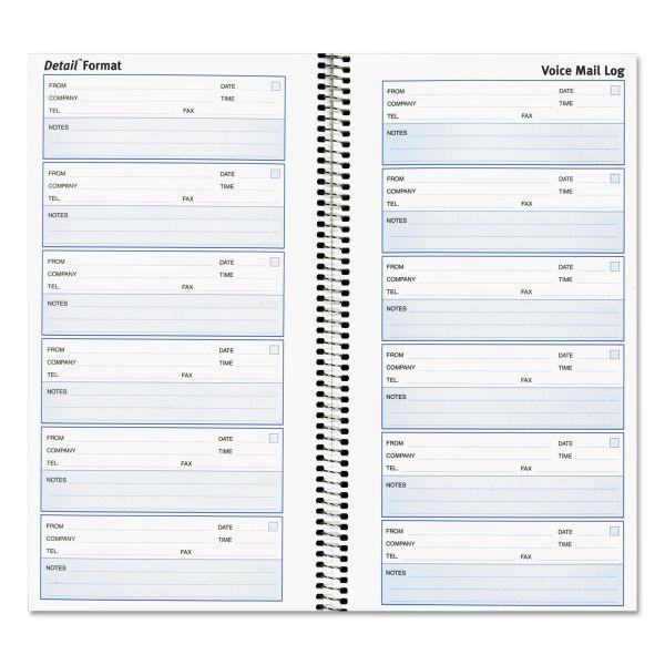 Rediform Voice Mail Log Book