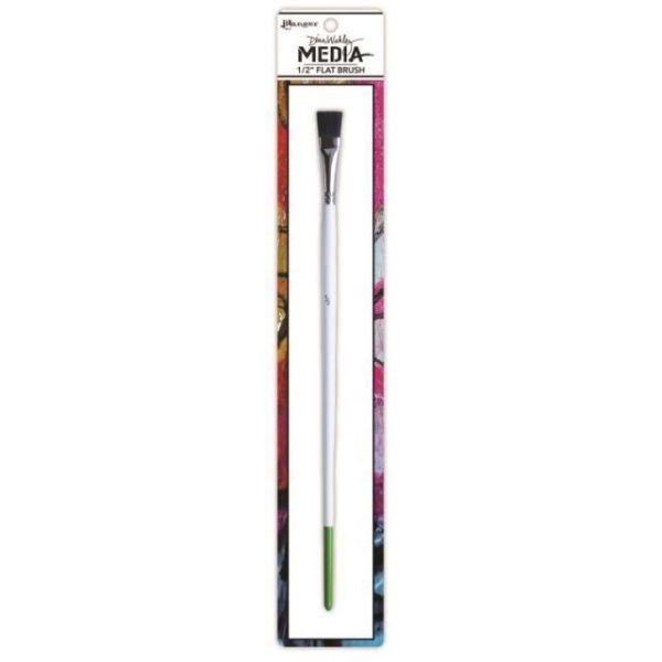Dina Wakley Media Stiff Bristle Paint Brush