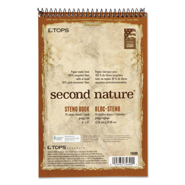 TOPS Second Nature Steno Pad