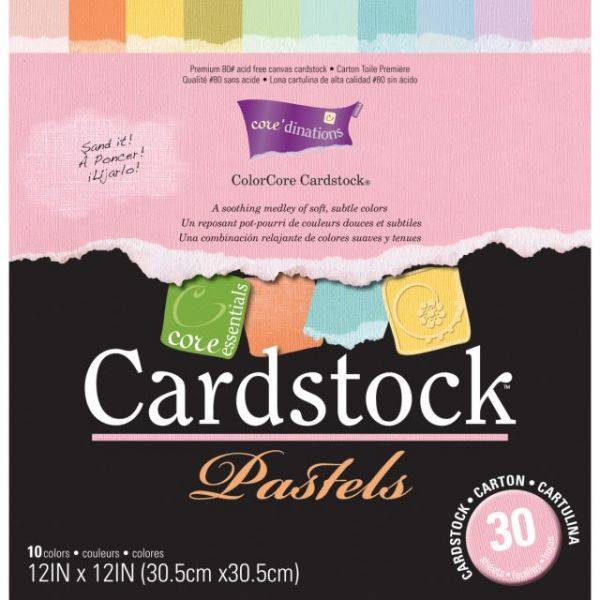 Core'dinations Core Essentials Pastels Cardstock Pad