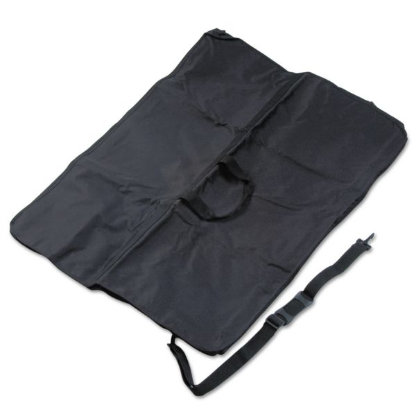 Quartet Presentation Easel Carrying Case, Ballistic Nylon, 32 x 42, Black