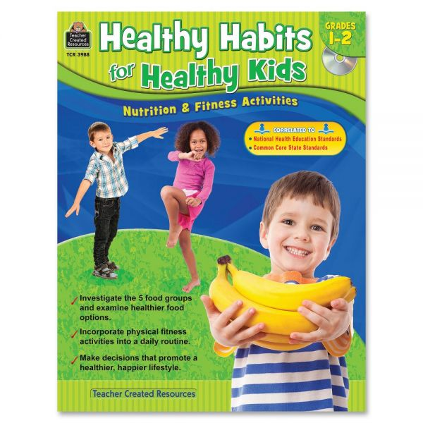 Teacher Created Resources Healthy Habits for Healthy Kids Grade 1-2 Education Printed/Electronic Book
