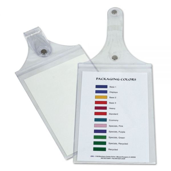 C-Line Magnetic Hanging Shop Ticket Holders