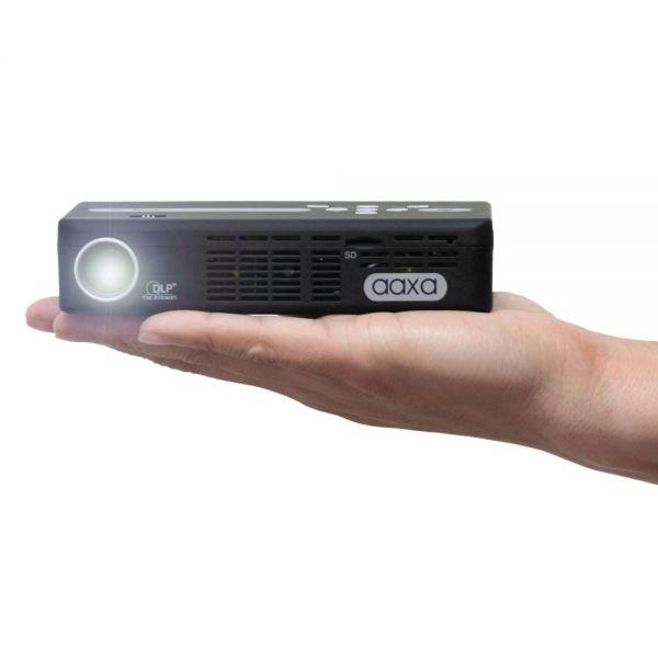 AAXA P4X Pico Projector, 125 Lumens, 1024 x 768 Pixels