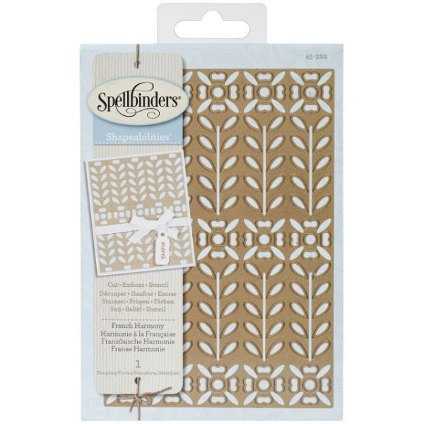 Spellbinders Shapeabilities Expandable Pattern Dies