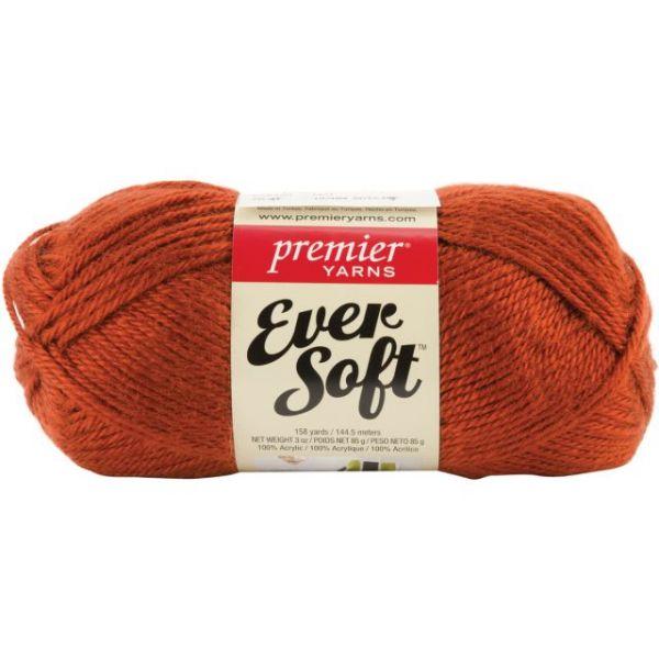 Premier Ever Soft Yarn - Rust