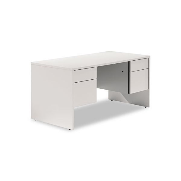 Genoa Series Double Pedestal Computer Desk