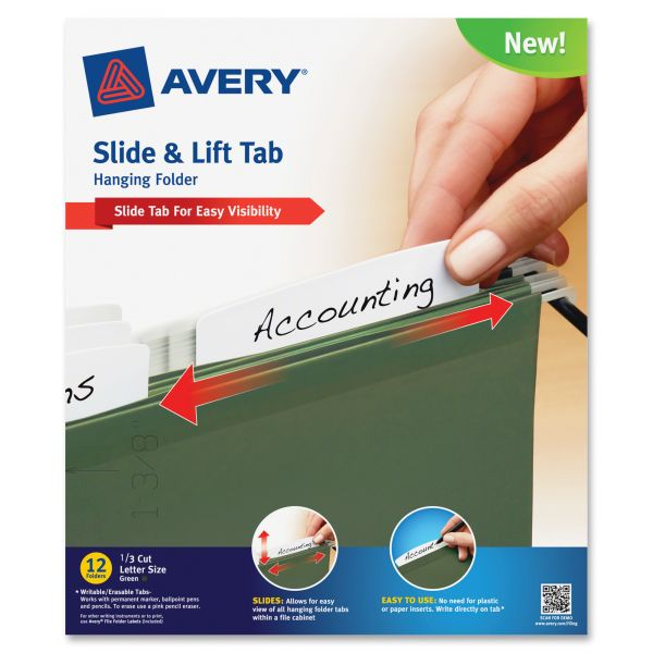 Avery LiftTab Hanging File Folders